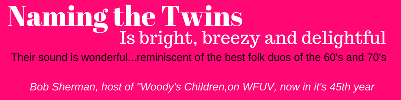 Bright breezy delightful quote in pink for website